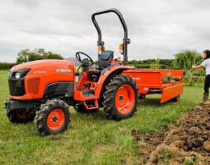 мини трактор 4х4